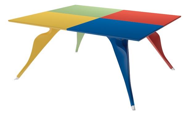 table macaone rééditée par Zanotta
