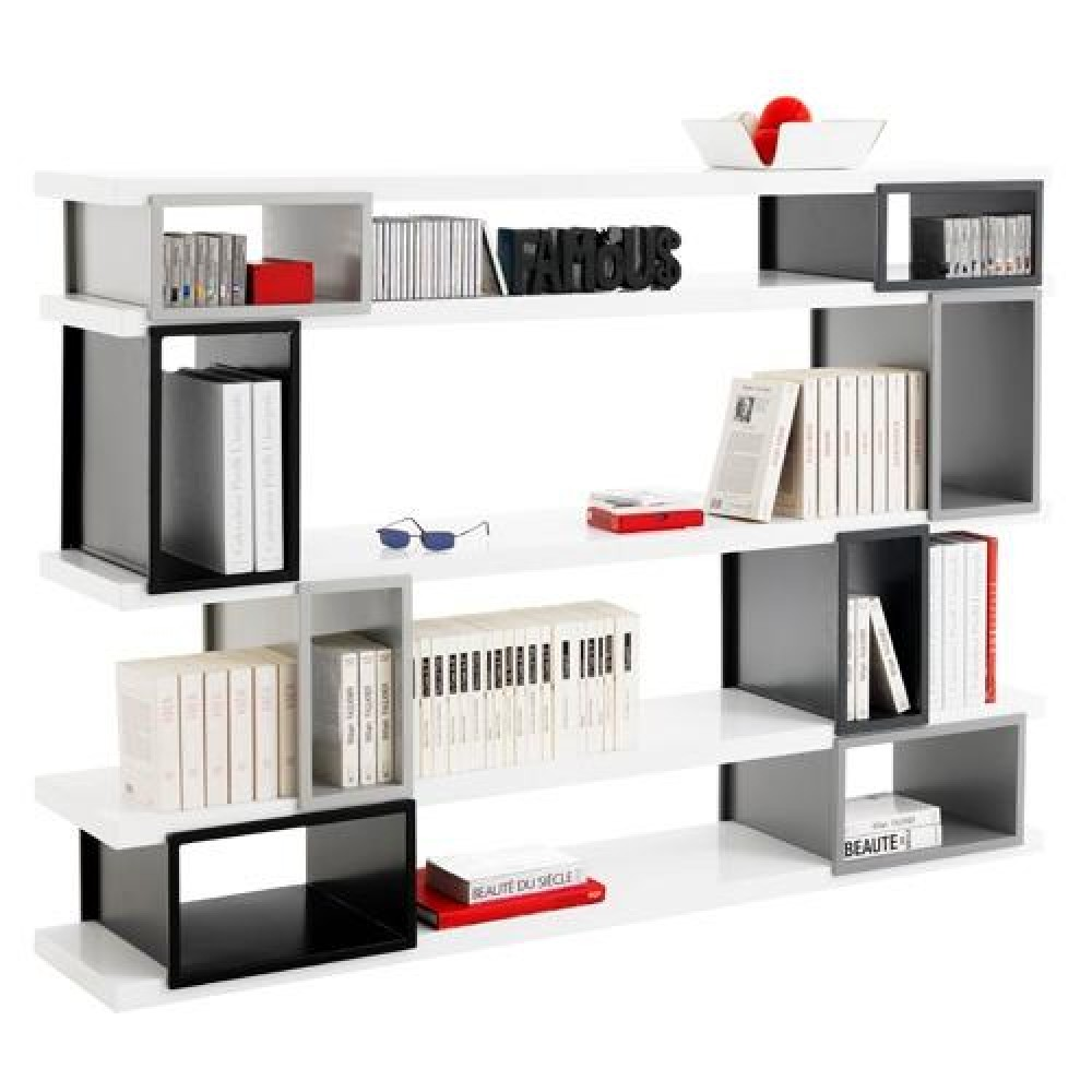 une biblioth que composer soi m me akina de fly dkomag. Black Bedroom Furniture Sets. Home Design Ideas