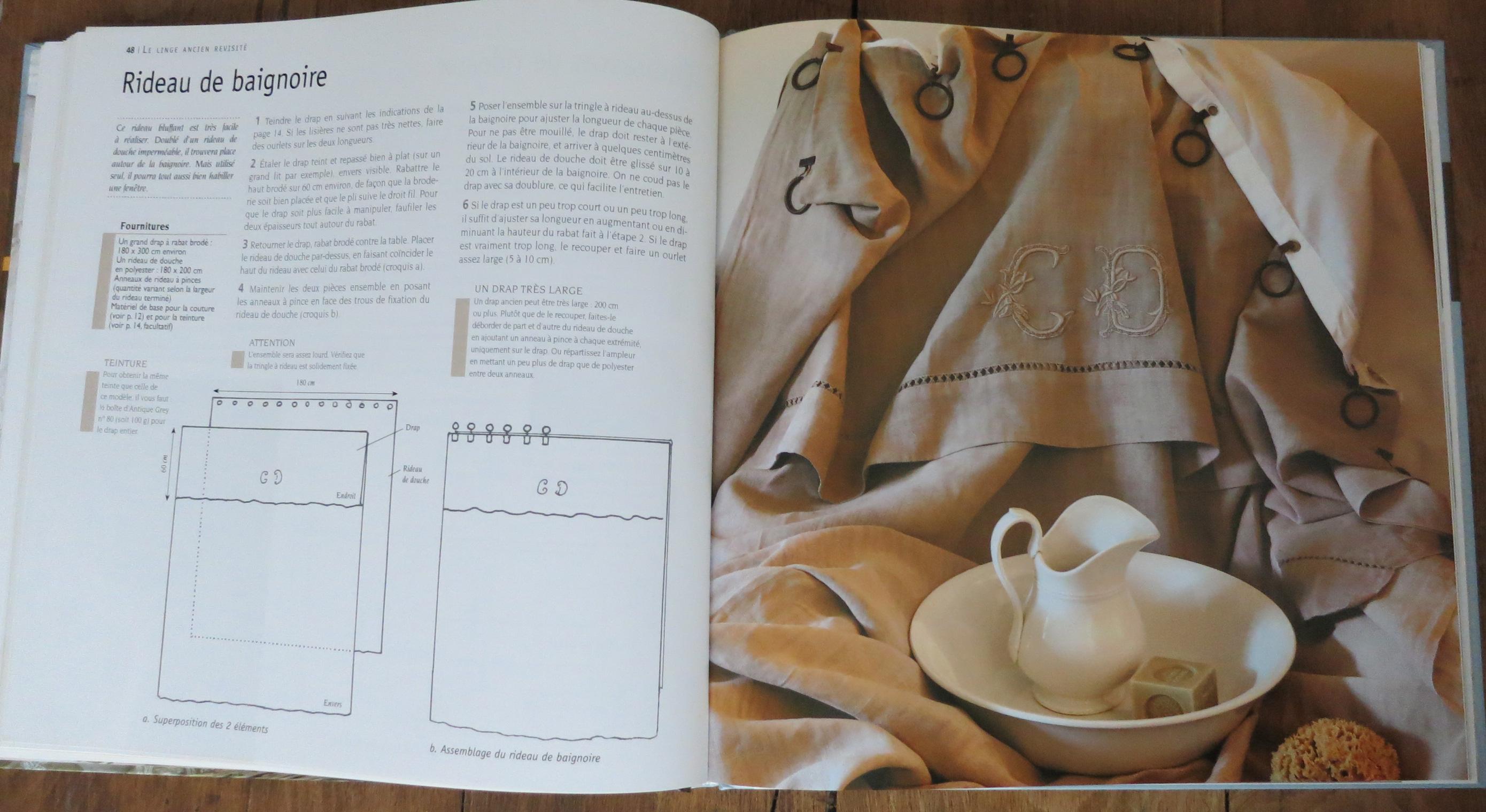 le linge ancien revisit de sylvie perrot humbert dkomag. Black Bedroom Furniture Sets. Home Design Ideas