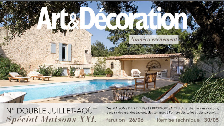 Magazine art d coration en version xxl pour l 39 t dkomag for Art et decoration abonnement