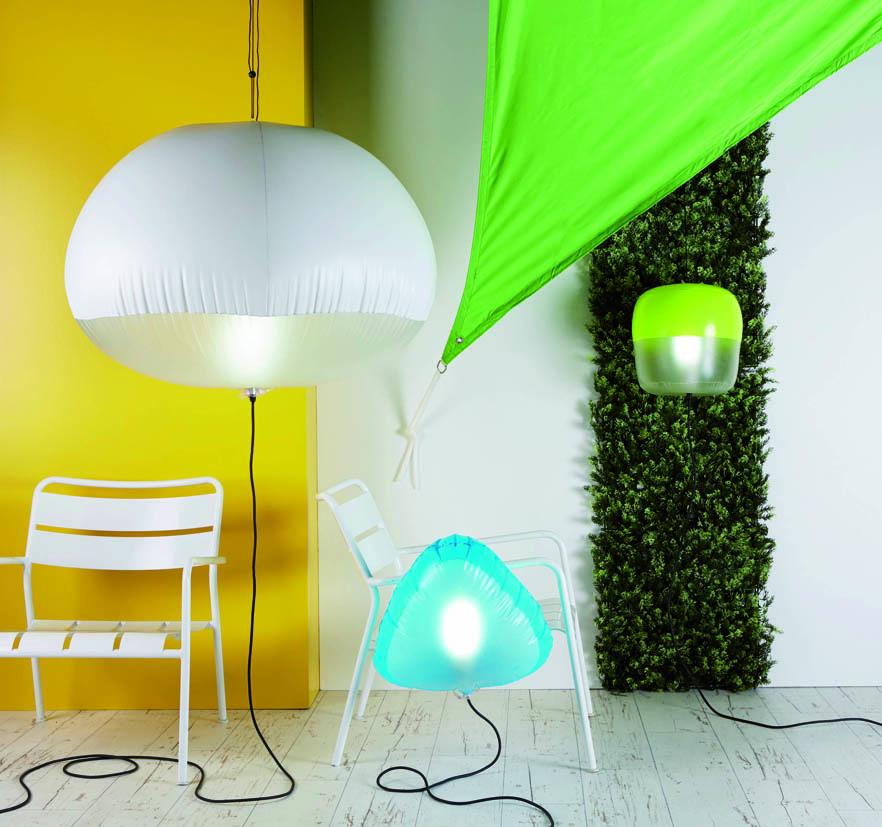 Surprenants, les luminaires gonflables So light by Corep - DKOmag