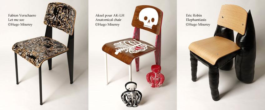 chaise Standard de Jean Prouve revisitee