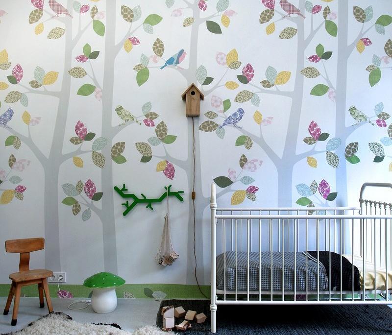 Papier peint xl pour chambre d 39 enfants inke heiland dkomag - Papier peint pour enfant ...