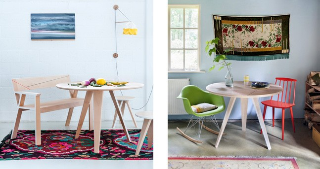 studio roof-table-grande-rose-fluor