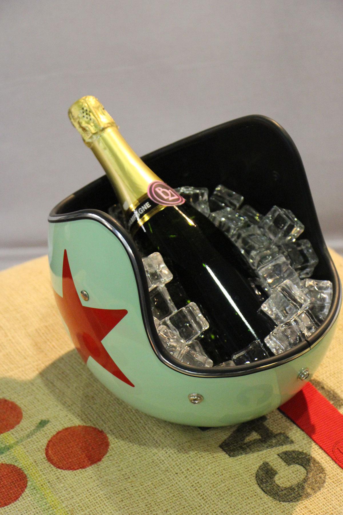 Casque de champagne Icejet Star