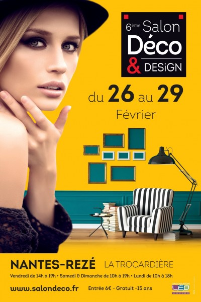 Affiche Salon Deco Design Reze 2016