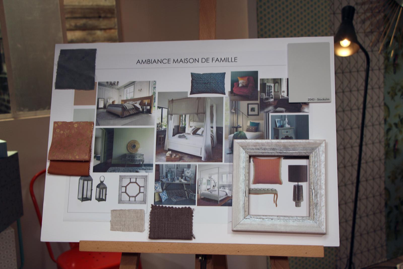 l'Atelier deco ambiance maison de famille coulisses du tournage stéphanie caumont