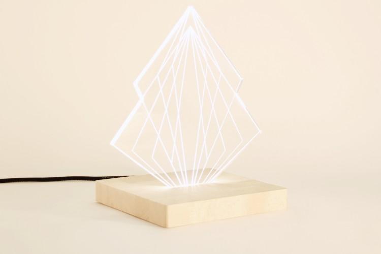hop fab pulsatil lampe-sculpture