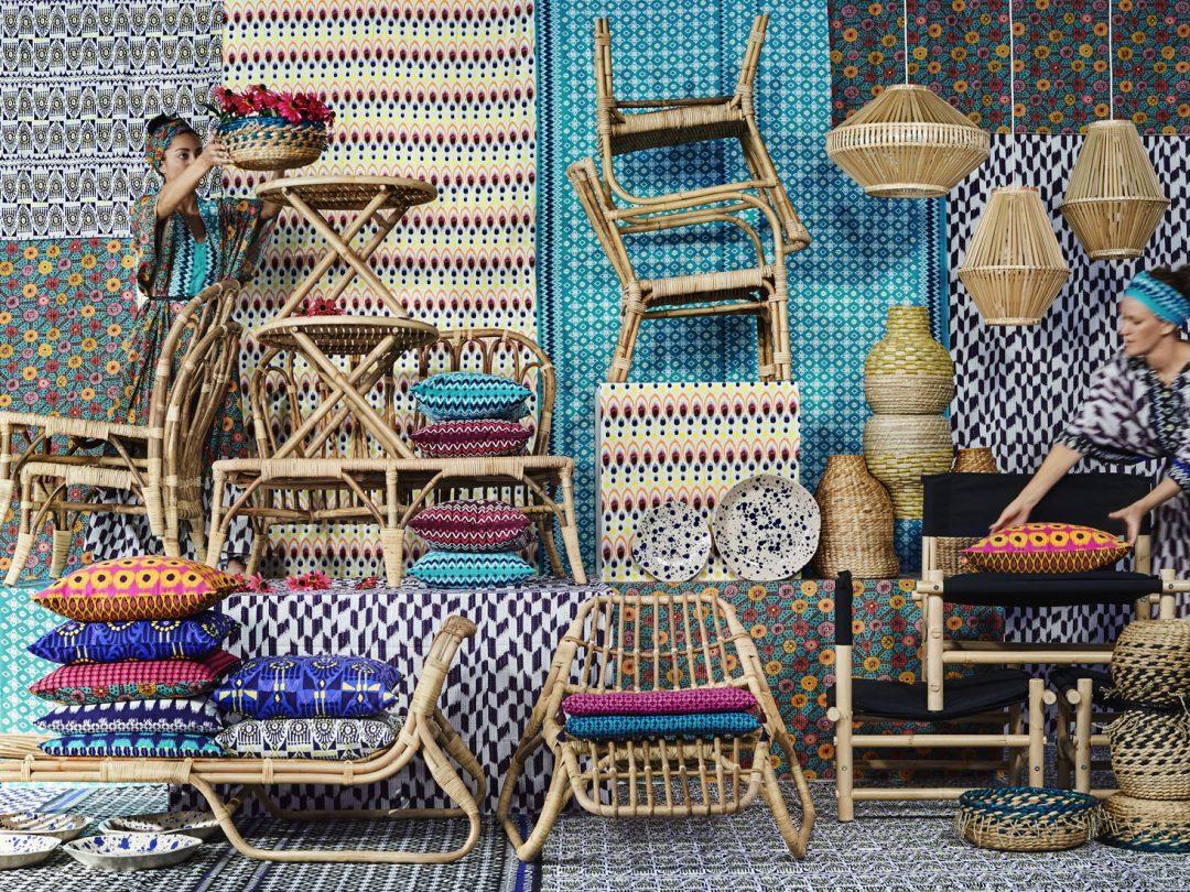 le rotin est de retour chez ikea dkomag. Black Bedroom Furniture Sets. Home Design Ideas