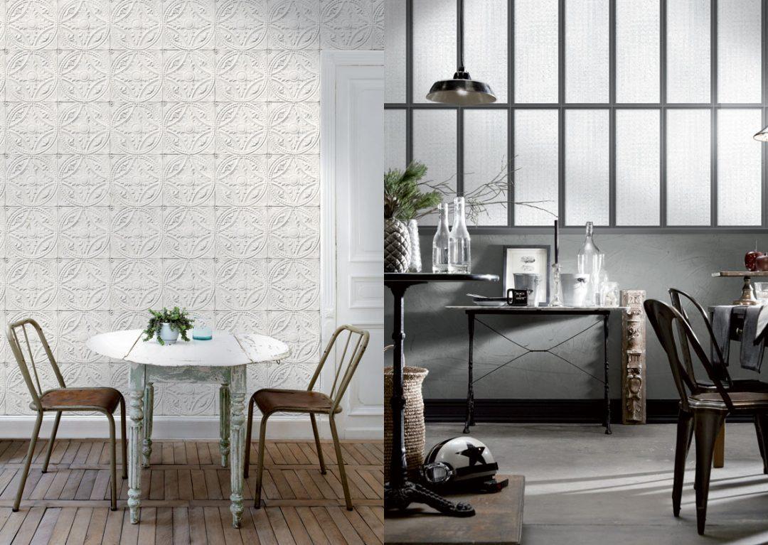 Cr er l 39 illusion avec koziel chez 4 murs dkomag for Decoration murale 4 murs
