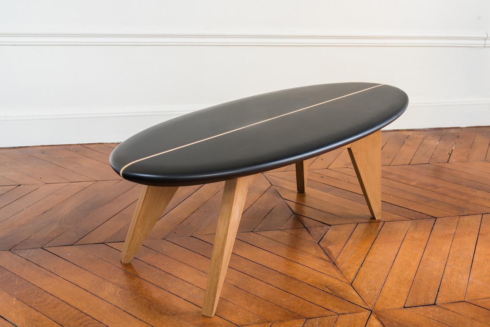 Bolge entre beach culture et design scandinave dkomag - Table planche de surf ...