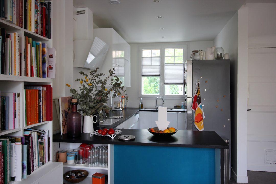 luxaflex pose store plisse duette cuisine stephanie caumont