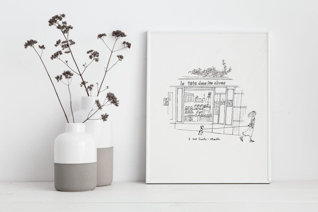 my little paris papermint poster-saintemarthe