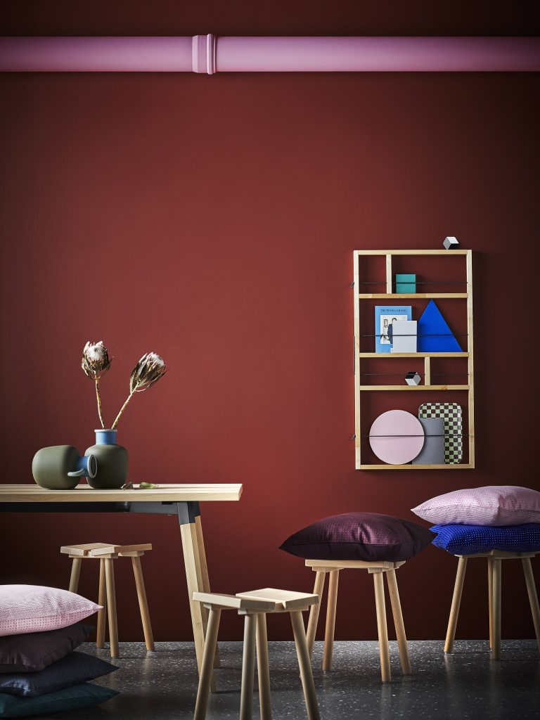 On adore l'étagère murale (54x4, H100) = 34,99 euros