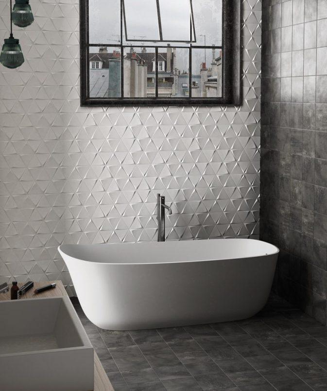 Une id e pour changer une cr dence de cuisine en for Peut on mettre du parquet dans une salle de bain