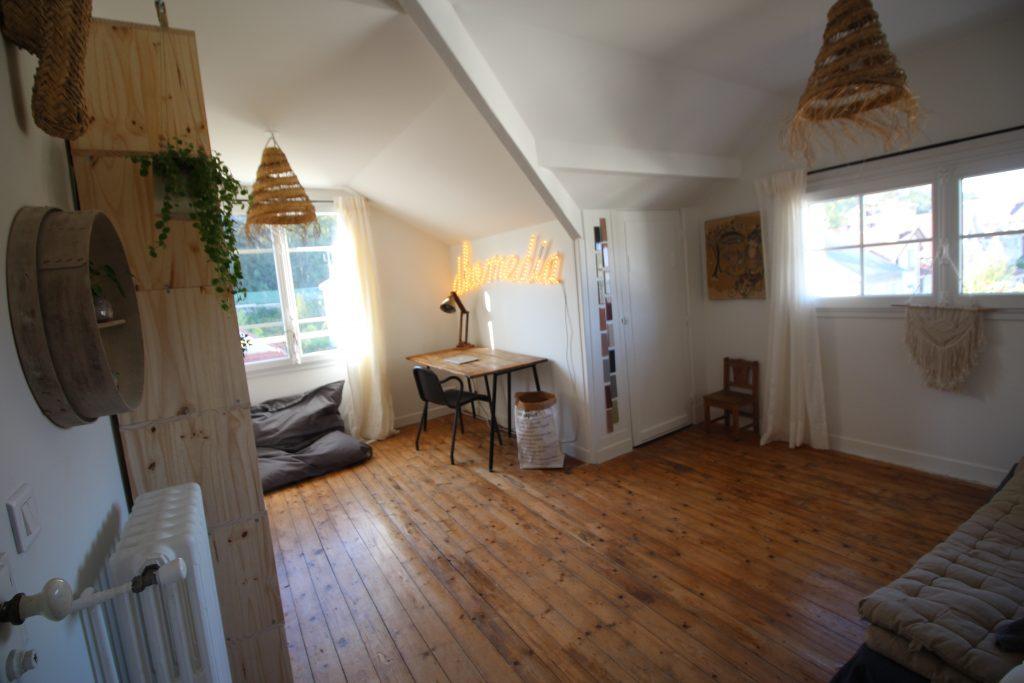 Bureau atelier chambre
